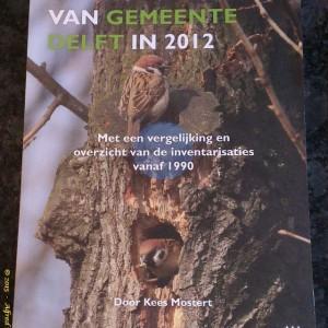 De Broedvogels van de Gemeente Delft in 2012